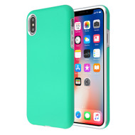 Fuse Slim Armor Hybrid Case for iPhone XS / X - Teal Green