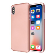 Fuse Slim Armor Hybrid Case for iPhone XS / X - Rose Gold