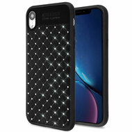Luxury Crystal Rhinestone Case for iPhone XR - Black
