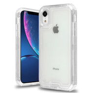 Atomic Tough Hybrid Case for iPhone XR - Clear
