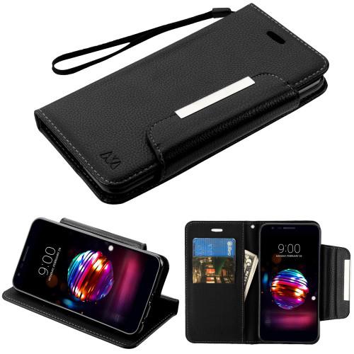 SALE* Designer Leather Wallet Shell Case for LG K30