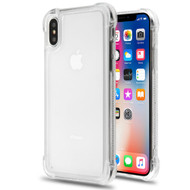 Tough Snap-on Crystal Fusion Case for iPhone XS / X - Clear