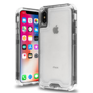 Atomic Tough Hybrid Case for iPhone XS / X - Black