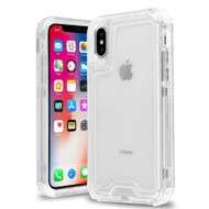 Atomic Tough Hybrid Case for iPhone XS / X - Clear