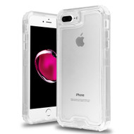 Atomic Tough Hybrid Case for iPhone 8 Plus / 7 Plus / 6S Plus / 6 Plus - Clear
