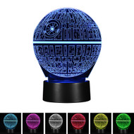 Creative 3D Visualization LED Night Lamp - Future Planet