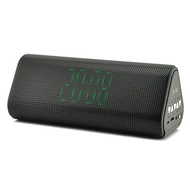 Portable Soundbar Bluetooth V4.2 Wireless Stereo Speaker with Built-in Microphone and FM Radio - Black