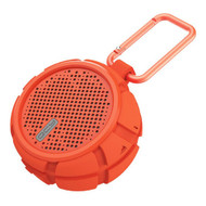 IPX7 Water Resistant Bluetooth V4.2 Wireless Speaker with Carabiner - Orange