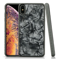 Tough Anti-Shock Triple Layer Hybrid Case for iPhone XS Max - Shell Grey