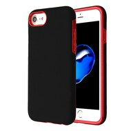 Fuse Slim Armor Hybrid Case for iPhone 8 / 7 / 6S / 6 - Black Red