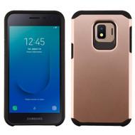 Hybrid Multi-Layer Armor Case for Samsung Galaxy J2 - Rose Gold
