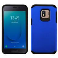 Hybrid Multi-Layer Armor Case for Samsung Galaxy J2 - Blue