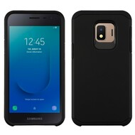 Hybrid Multi-Layer Armor Case for Samsung Galaxy J2 - Black