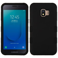 Military Grade Certified TUFF Hybrid Armor Case for Samsung Galaxy J2 - Black 001