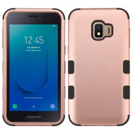 Military Grade Certified TUFF Hybrid Armor Case for Samsung Galaxy J2 - Rose Gold 059