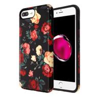 Fuse Slim Armor Hybrid Case for iPhone 8 Plus / 7 Plus / 6S Plus / 6 Plus - Red and White Roses