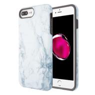 Fuse Slim Armor Hybrid Case for iPhone 8 Plus / 7 Plus / 6S Plus / 6 Plus - Marble White