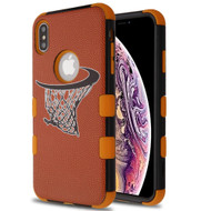 Military Grade Certified TUFF Hybrid Armor Case for iPhone XS Max - Hoop