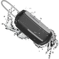 HyperGear Wave Water Resistant Bluetooth V4.2 Wireless Speaker - Black Grey