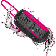 HyperGear Wave Water Resistant Bluetooth V4.2 Wireless Speaker - Black Pink