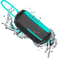 HyperGear Wave Water Resistant Bluetooth V4.2 Wireless Speaker - Black Teal