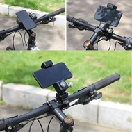 Guider Universal Cell Phone Bicycle Motorcycle Handlebar Mount Holder - Black