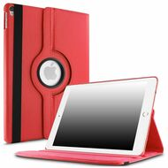 360 Degree Smart Rotating Leather Case for iPad Pro 12.9 inch (1st and 2nd Generation) - Red