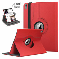 360 Degree Smart Rotating Leather Case for iPad Pro 11 inch - Red