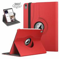 360 Degree Smart Rotating Leather Case for iPad Pro 12.9 inch (3rd Generation) - Red