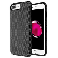 Fuse Slim Armor Hybrid Case for iPhone 8 Plus / 7 Plus / 6S Plus / 6 Plus - Carbon Fiber