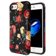 Fuse Slim Armor Hybrid Case for iPhone 8 / 7 / 6S / 6 - Red and White Roses