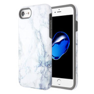 Fuse Slim Armor Hybrid Case for iPhone 8 / 7 / 6S / 6 - Marble White