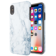 Fuse Slim Armor Hybrid Case for iPhone XS / X - Marble White