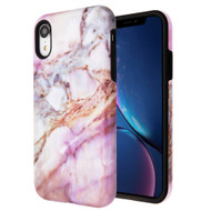 Fuse Slim Armor Hybrid Case for iPhone XR - Marble Purple