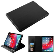 Book-Style Leather Folio Case for iPad Pro 11 inch - Black