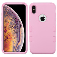Military Grade Certified TUFF Hybrid Armor Case for iPhone XS Max - Soft Pink
