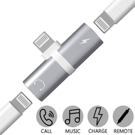 *SALE* 2-IN-1 Lightning Splitter HD Audio + Voice Call + Charging Adapter - Silver