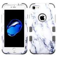 Military Grade Certified TUFF Hybrid Armor Case for iPhone 8 / 7 - Marble White