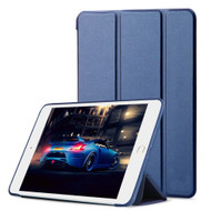 *Sale* All-In-One Smart Leather Hybrid Case for Apple iPad Mini 4 - Navy Blue