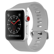 Classic Silicone Watch Band for Apple Watch 44mm / 42mm - Grey