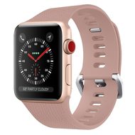 Classic Silicone Watch Band for Apple Watch 44mm / 42mm - Rose Gold