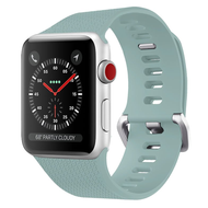 Classic Silicone Watch Band for Apple Watch 44mm / 42mm - Baby Blue