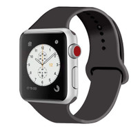 Sport Silicone Band Watch Strap for Apple Watch 44mm / 42mm - Dark Grey