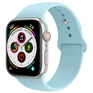 Sport Silicone Band Watch Strap for Apple Watch 40mm / 38mm - Baby Blue