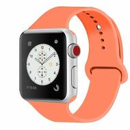 Sport Silicone Band Watch Strap for Apple Watch 40mm / 38mm - Orange