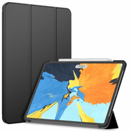 Smart Hybrid Case with Auto Sleep/Wake Trifold Cover for iPad Pro 11 inch - Black
