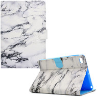 *SALE* Diary Leather Wallet Smart Case for iPad Mini 1 / 2 / 3 - Marble White