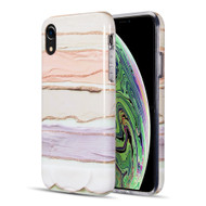 Artistry Collection Glitter TPU Case for iPhone XR - Pastel Bliss