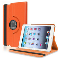 360 Degree Smart Rotating Leather Case for iPad (2018/2017) / iPad Air / iPad Air 2 - Orange