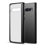 Polymer Transparent Hybrid Case for Samsung Galaxy S10 - Black